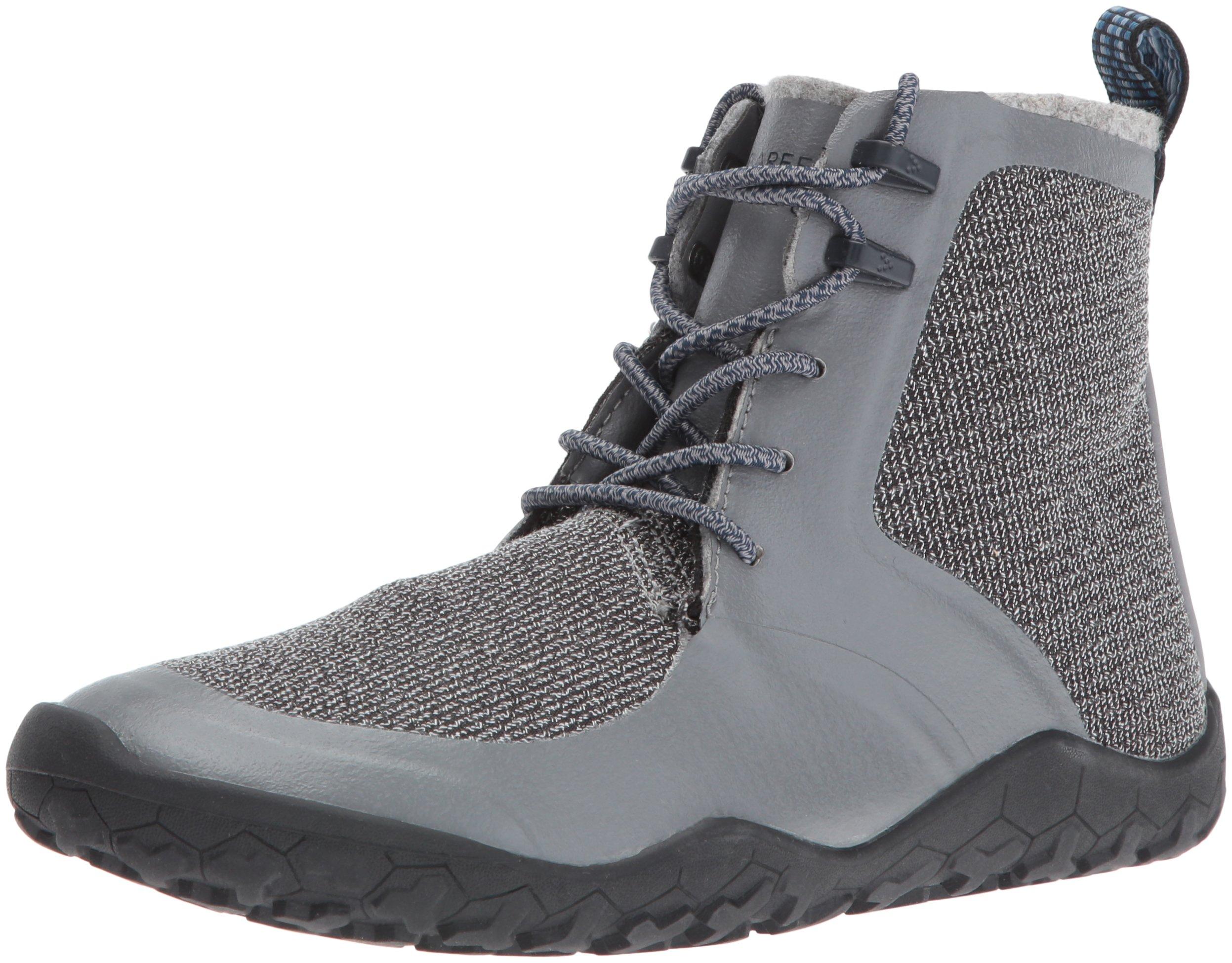 Vivobarefoot Women's Saami Lite l Synth Walking Shoe, Grey, 41 EU/10 M US