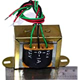 MA Industial Grade Pure 12-0-12 12V - 1A AC AC Power Transformer For DIY and other Application
