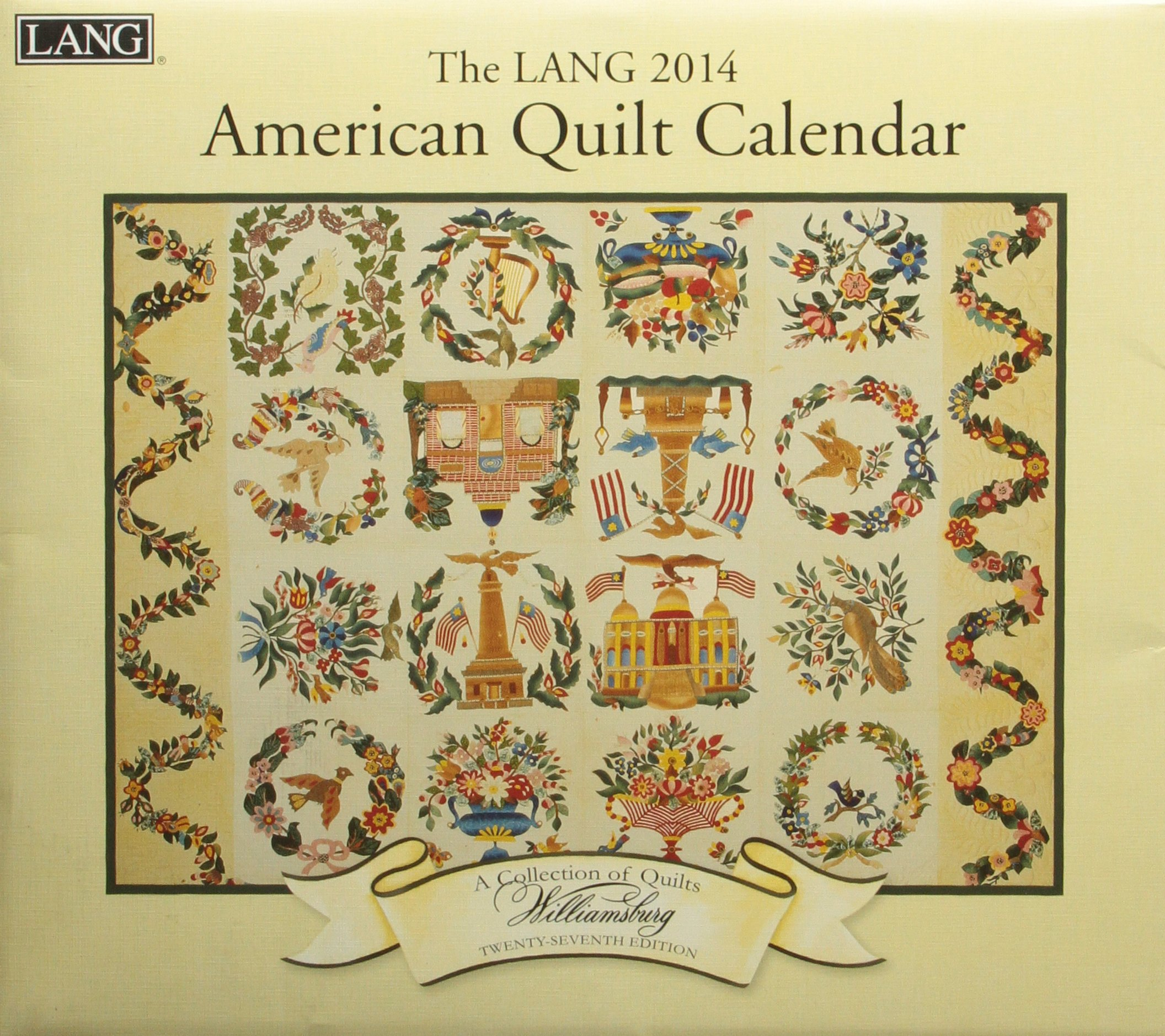 The Lang American Quilt 2014 Calendar ebook