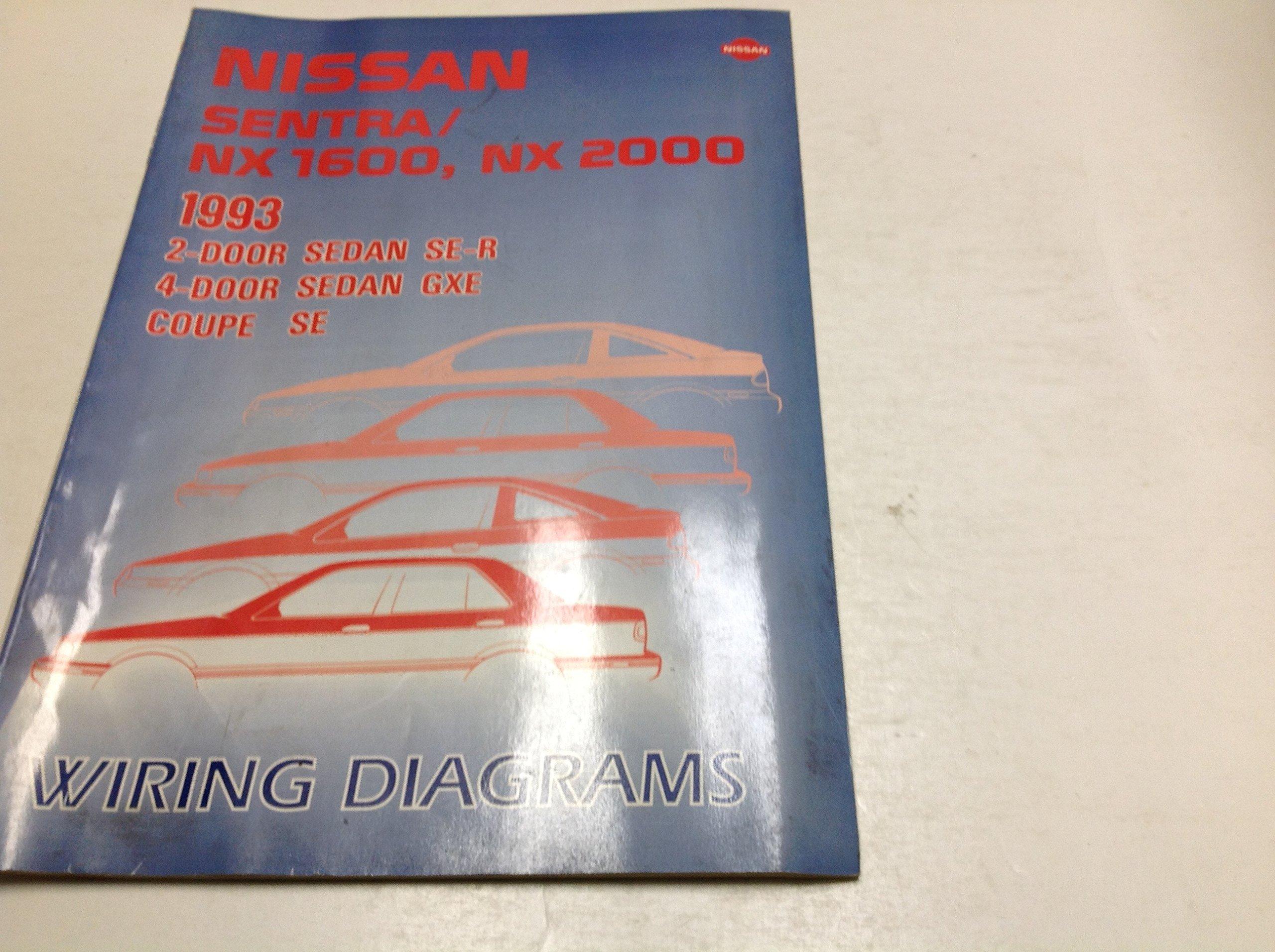 1993 Nissan Sentra NX 1600 2000 Electrical Wiring Digram ... on 91 ford explorer wiring diagram, 91 dodge stealth wiring diagram, 91 ford thunderbird wiring diagram, 91 chevy camaro wiring diagram, 91 ford f150 wiring diagram, 91 jeep cherokee wiring diagram, 91 acura integra wiring diagram, 91 dodge dakota wiring diagram, 91 chevy s10 wiring diagram, 91 jeep wrangler wiring diagram, 91 ford ranger wiring diagram, 91 toyota pickup wiring diagram, 91 geo tracker wiring diagram,