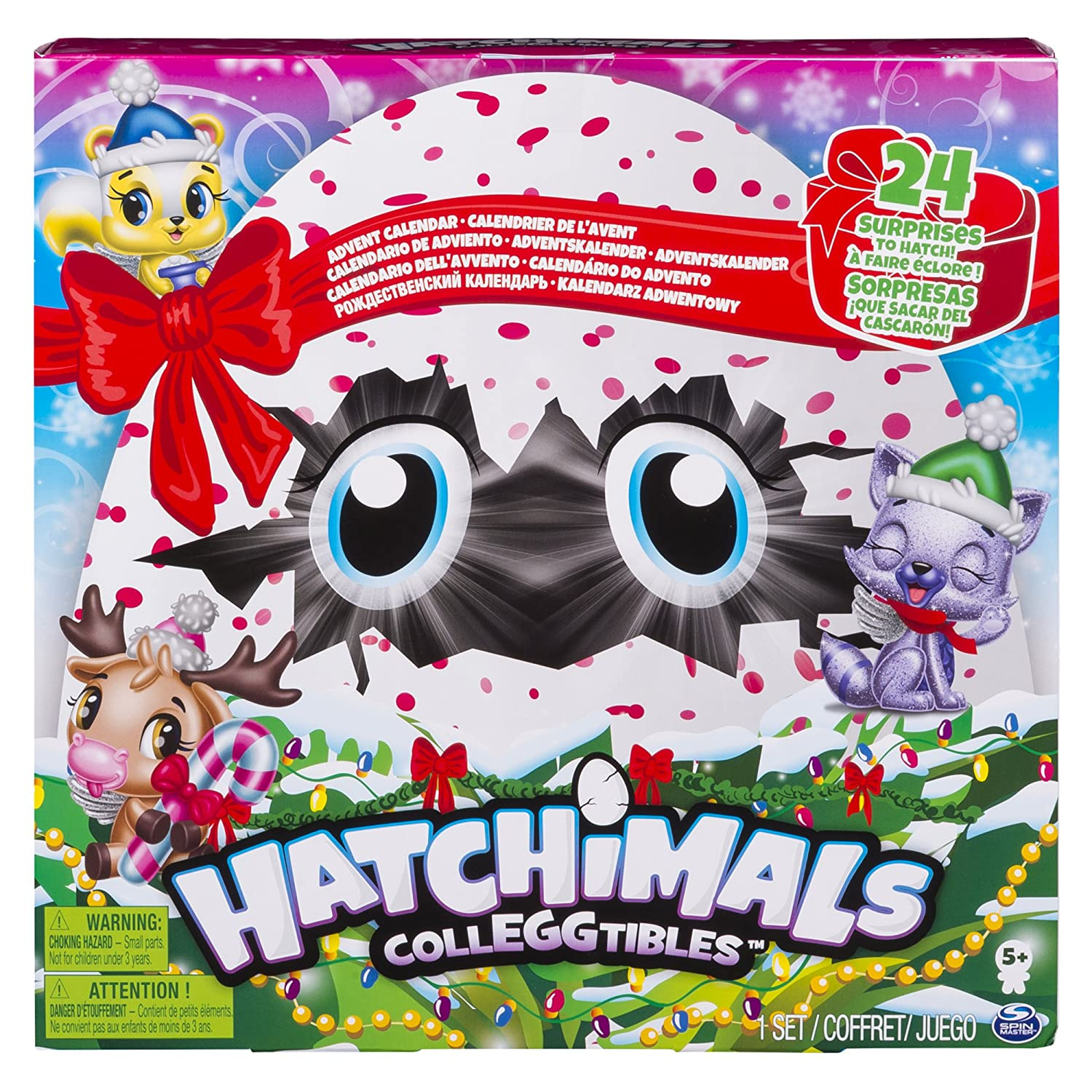 HATCHIMALS 6044284 Hatchimals-6044284-Hatchimals Colleggtibles Adventskalender, Multicolour
