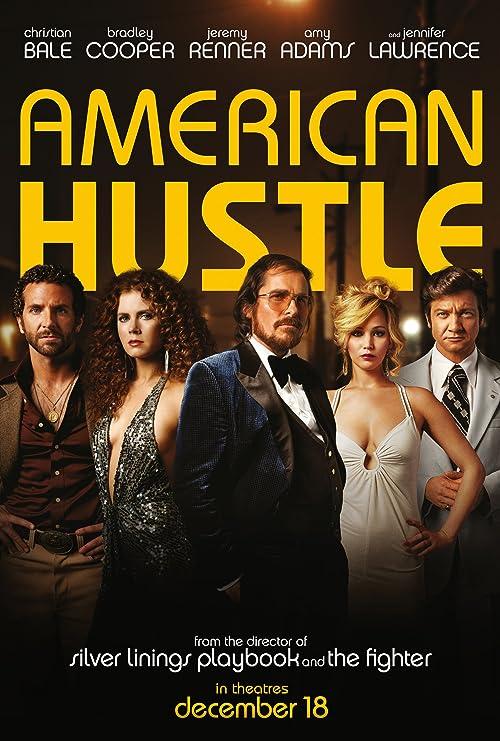 Amazon.com: American Hustle Movie Poster 24 x 36 Inches (Thick ...