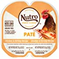 NUTRO Perfect Portions Grain Free Natural Wet Cat Food, Paté, 24 Twin-Packs