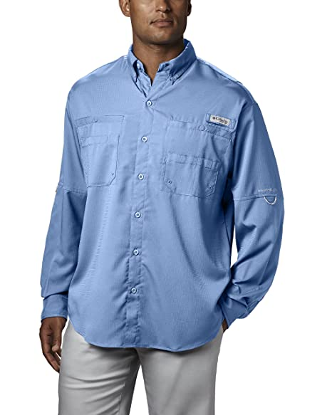 33800f4a3 Amazon.com: Columbia Men's PFG Tamiami II Long Sleeve Shirt — Big ...