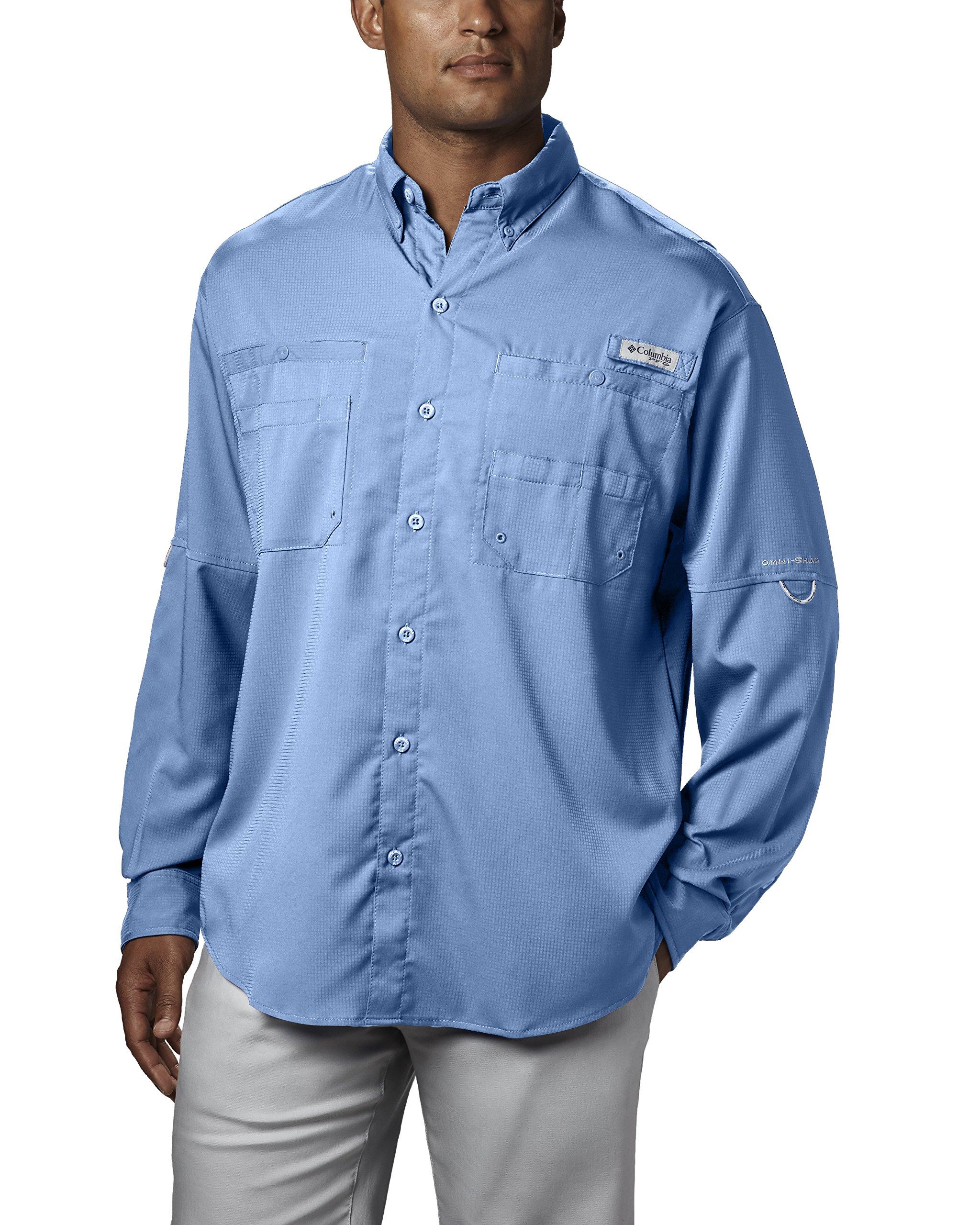 Columbia Men's Plus Tamiami II Long Sleeve Shirt, Sail - Large by Columbia