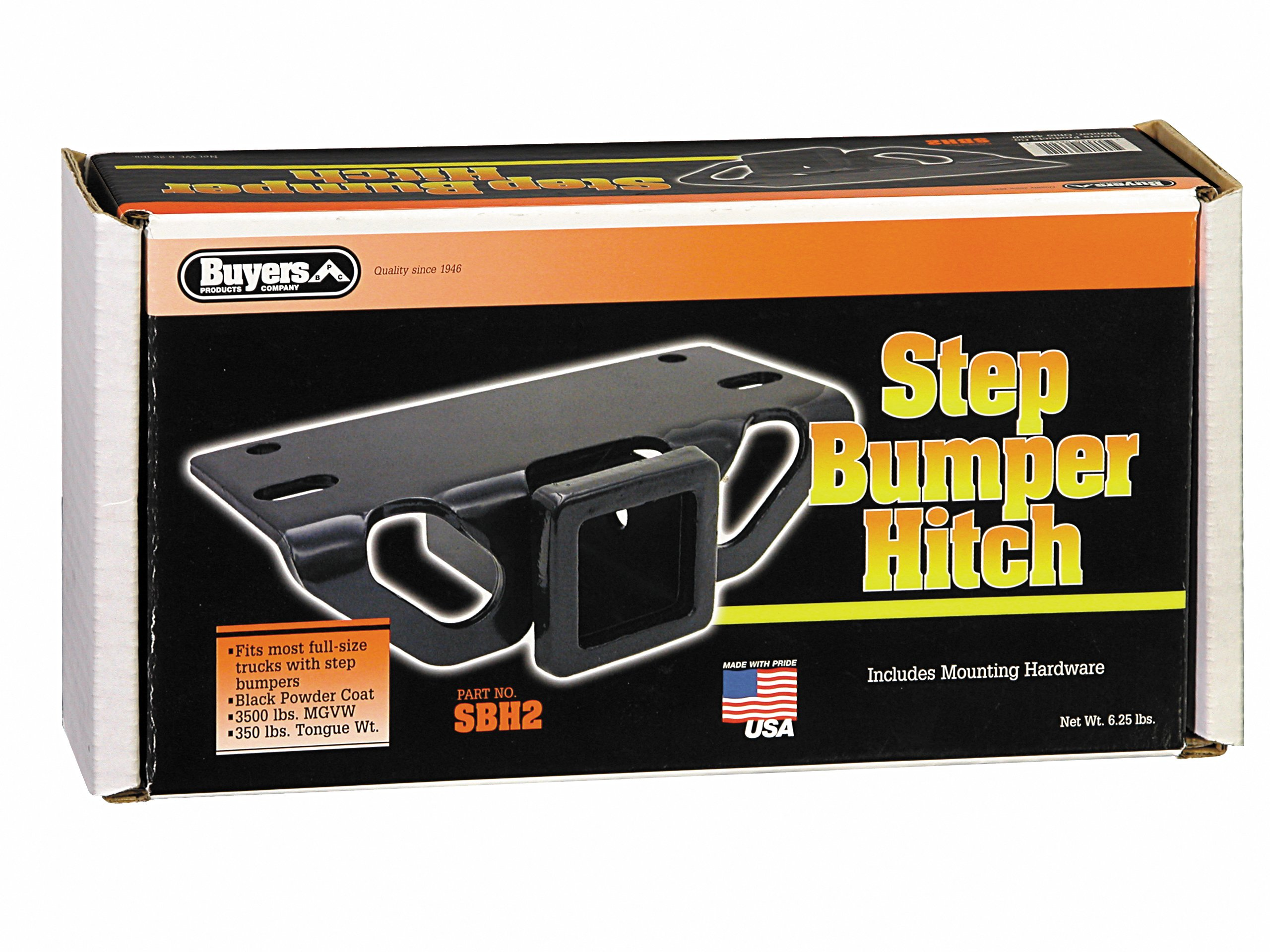 Buyers Products SBH2 Step Bumper Hitch (with 2'' Receiver Opening) by Buyers Products