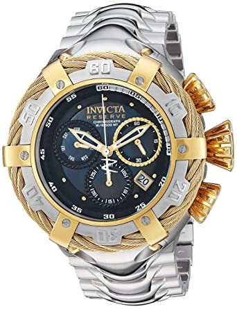 amazon com invicta men s bolt quartz stainless steel casual watch