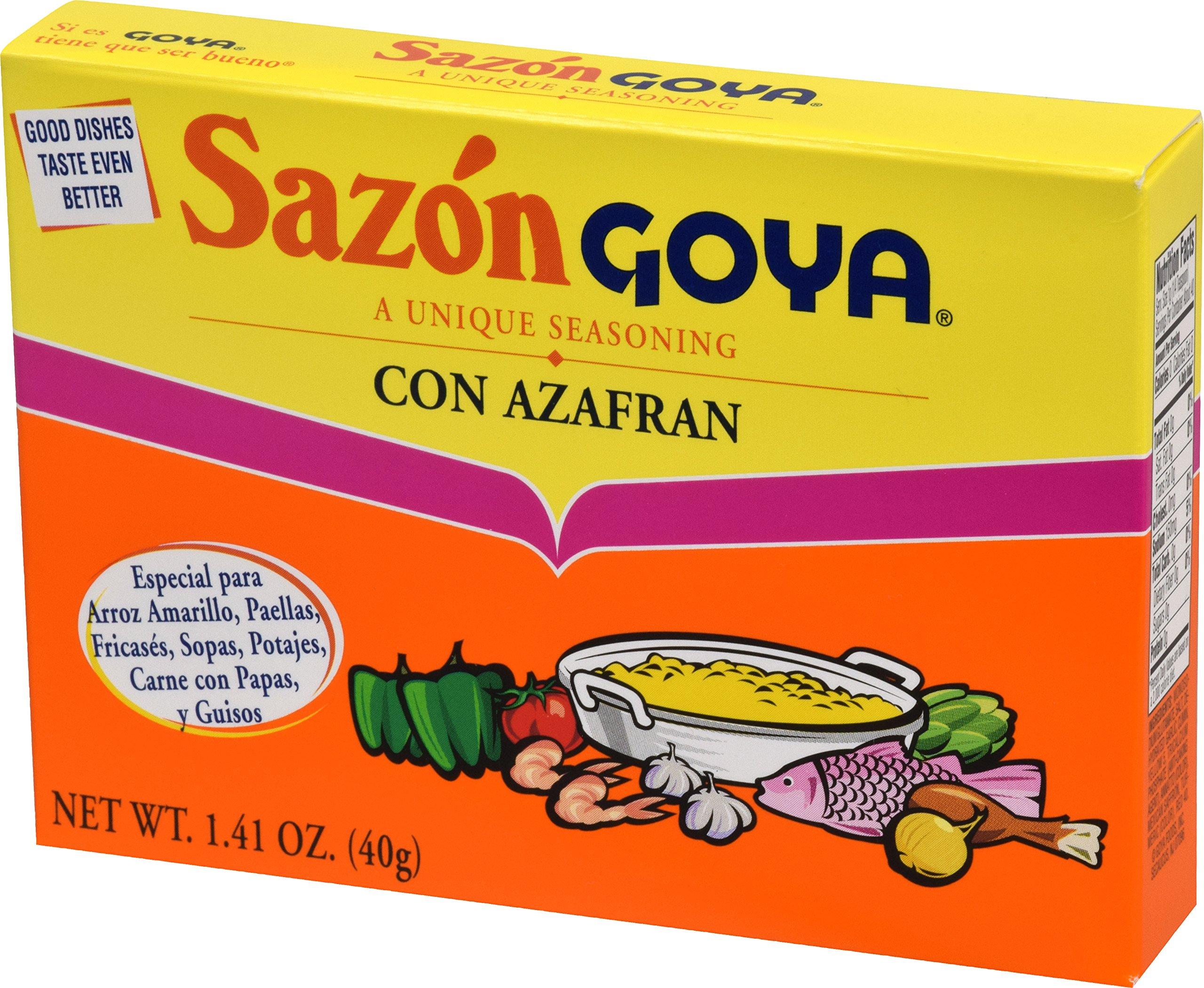 Goya Foods Sazon Azafran Seasoning, 1.41 Ounce by Goya (Image #5)