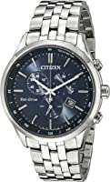 Citizen Men's AT2141-52L Silver-Tone Stainless Steel Watch with Link Bracelet