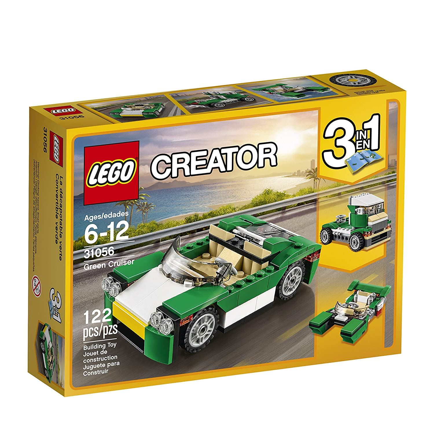 $9.67 (was $12.99) LEGO 6175236 Creator Green Cruiser 31056 Building Kit