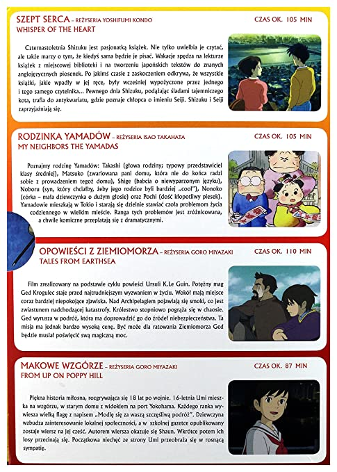 Studio Ghibli 1 Szept Serca Rodzinka Yamadow Opowiesci