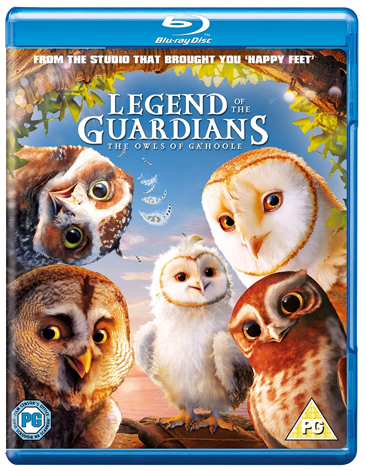 Amazon com: Legends of the Guardians [Blu-ray]: Hugo Weaving