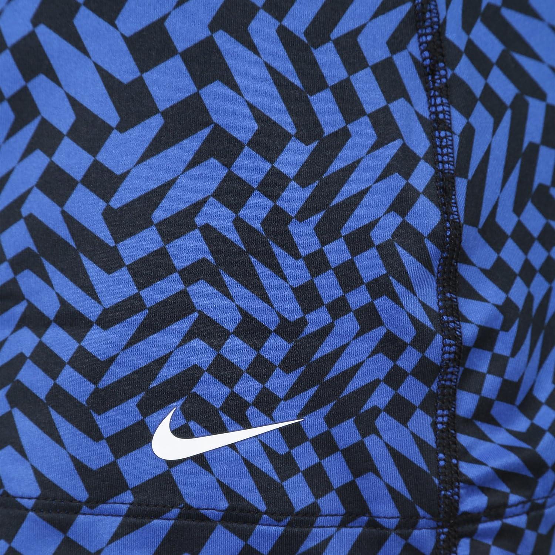 Blue Nike Get Fit Checker Tank