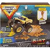 Monster Jam, Earth Shaker Monster Dirt Starter Set, Featuring 8oz of Monster Dirt and Official 1:64 Scale Die-Cast…