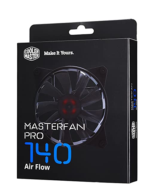 3 opinioni per Cooler Master MasterFan Pro 140 Air Flow Computer case Fan- computer cooling