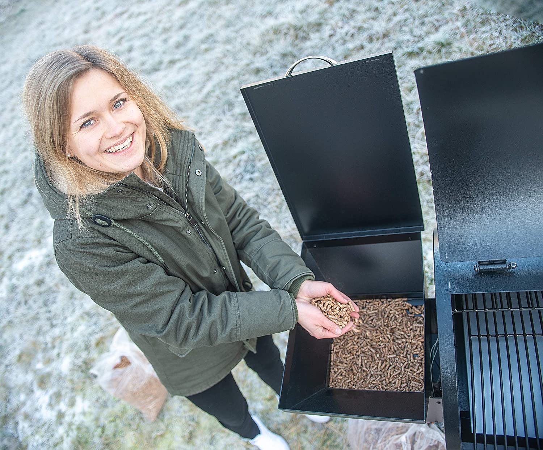 Holzpellets 100/% Buche zum Grillen Räuchern ACTIVA Grillpellets Pellets 30 KG