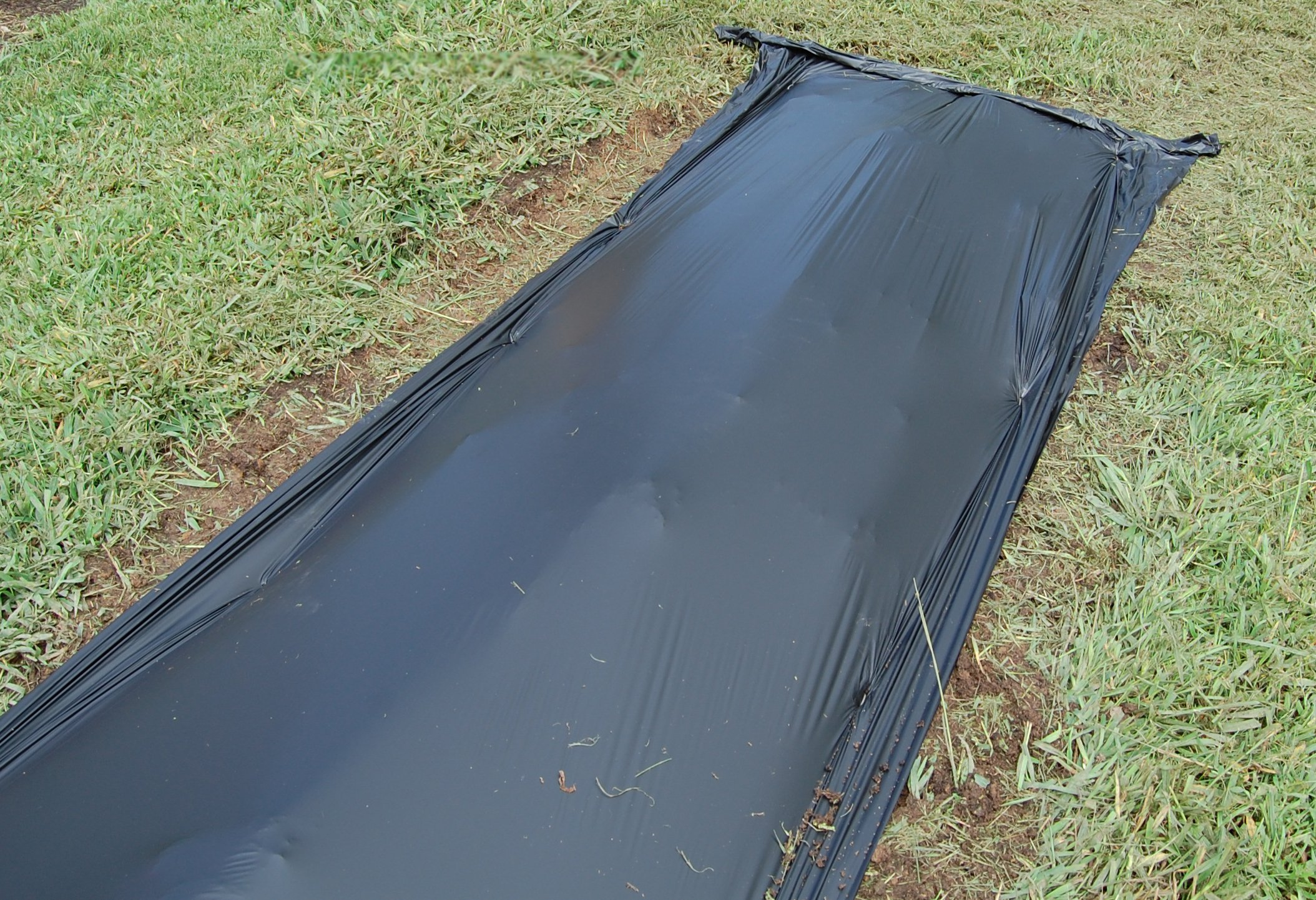 Black Plastic Mulch 4 ft. X 4000 ft. 1.0 Mil Embossed By Growers's Solution