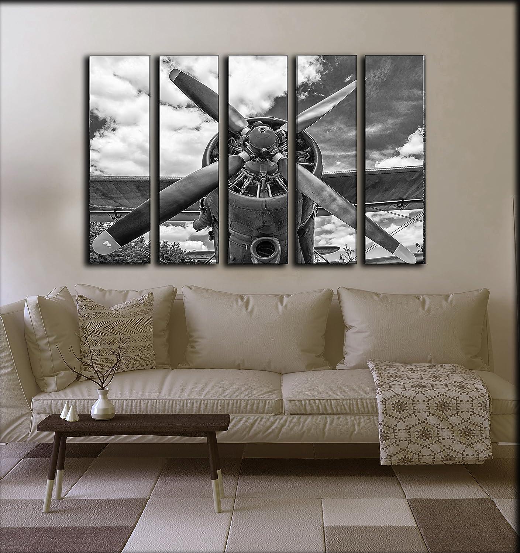 amazon com large set airplane canvas wall art aircraft canvas