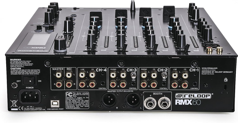 Reloop RMX-60 Digital,schwarz: Amazon.de: Musikinstrumente