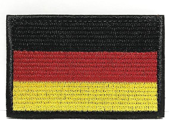 Deutschland Flagge Patch Klett Airsoft Patches Militär Klettbänder Aufkleber Abzeichen Für Molle Rucksäcke Velcro Patch Colisal Deutschland Flagge Patch Küche Haushalt