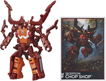 Transformers Generations Combiner Wars Legends Class Insecticon Chop Shop NEW!