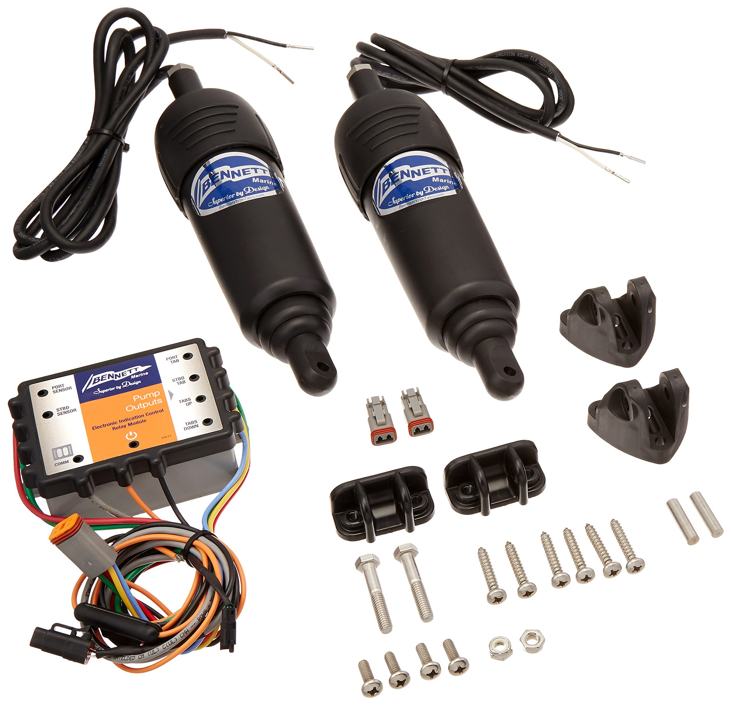 Bennett Marine 3004.0333 Hydraulic to BOLT Electric Conversion Kit