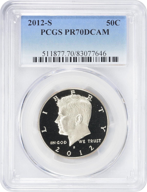 1992 S 50C Kennedy Half Dollar Proof PCGS PR70DCAM