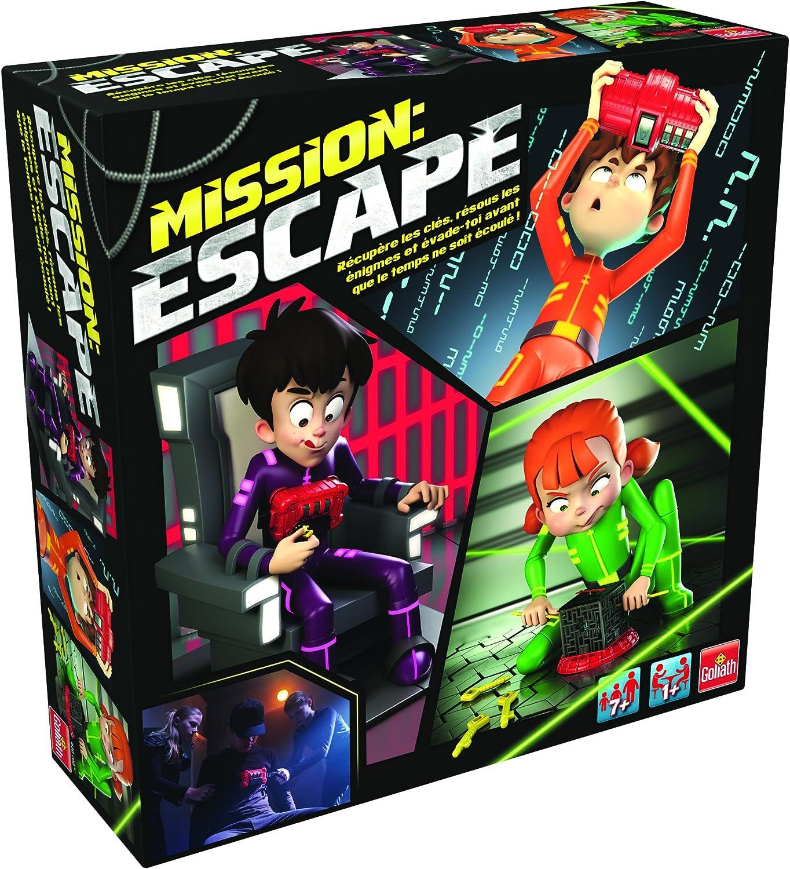 Goliath 30211 – Mission Escape Juego, Infinito a Menudo spielbar ...