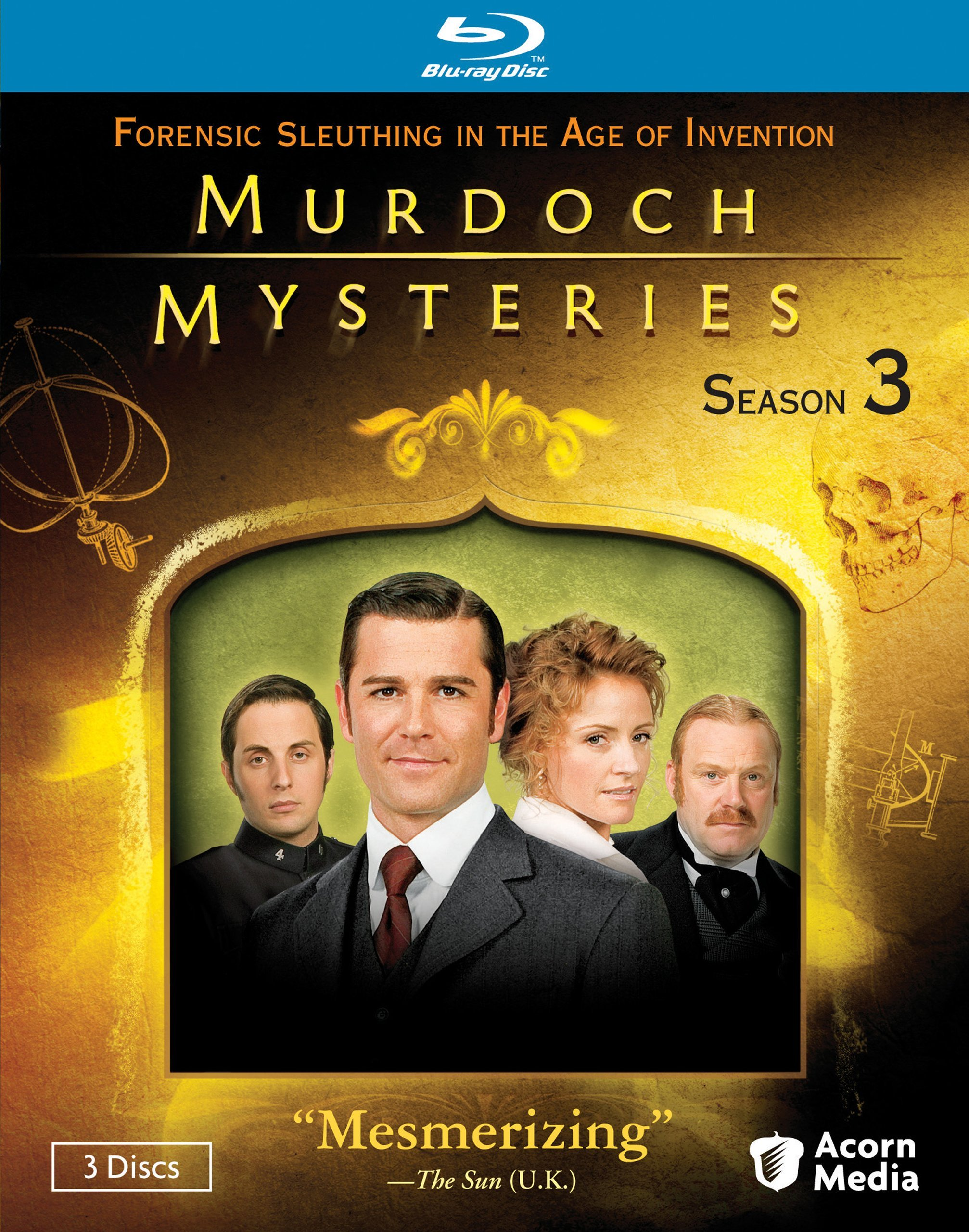 Blu-ray : Murdoch Mysteries Season 3 (4PC)