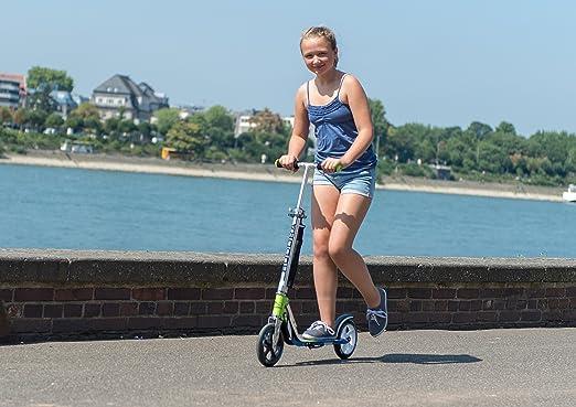 Amazon.com: Hudora, Big Wheel RX 205 – Patinete, color verde ...