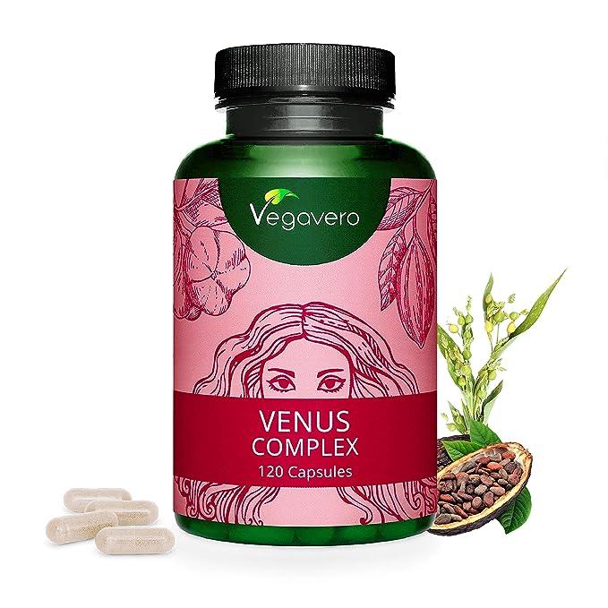 BIOTINA Vegavero® | Con Zinc + Selenio + Vitaminas B + Vitamina C + Metionina | SIN ESTEARATO DE MAGNESIO | 120 Cápsulas | Vitaminas Para el Cabello ...