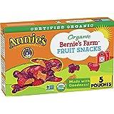 Annie's Organic Bernie's Farm, Fruit Snacks, 4 oz, 5 ct