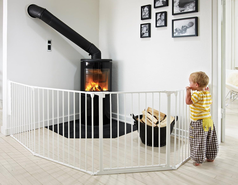 BabyDan Barri/ère de s/écurit/é enfant multi-fonction 90-278cm blanc XL