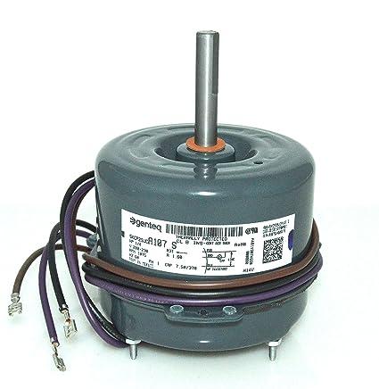 GE Trane Condenser Fan Motor 1/4 HP 5KCP29JCA107S