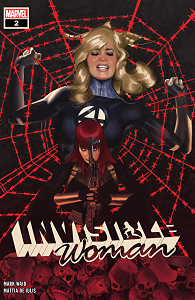INVISIBLE WOMAN #4 MARVEL ADAM HUGHES WAID  COVER A 1ST PRINT