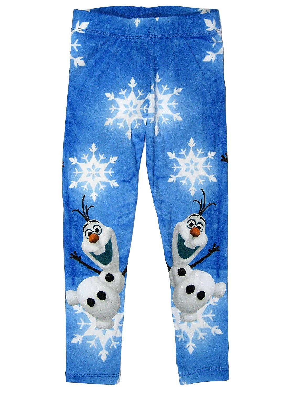 Frozen ufficiale Girls leggings età 3–4, 5–6, 7–8anni 5-6 7-8anni