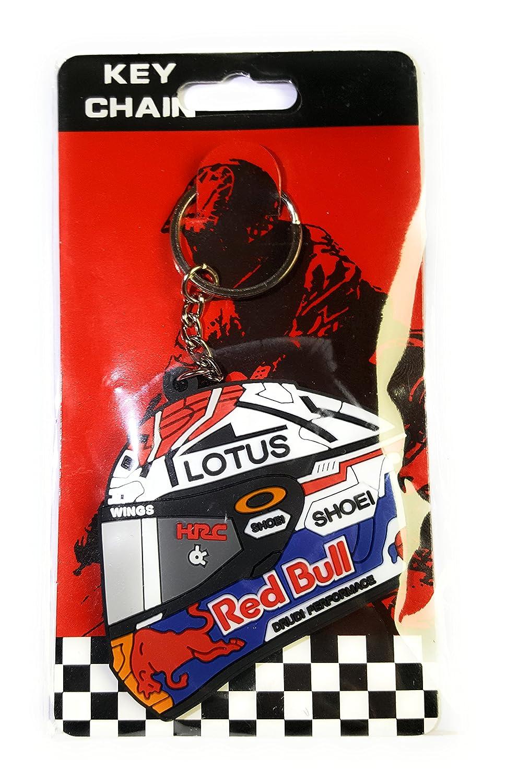 New 2018. Marc Márquez 93 llavero casco oficial, MotoGP