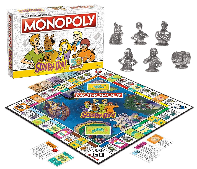 Amazon.com: Monopoly Scooby-Doo! Juego de mesa oficial ...
