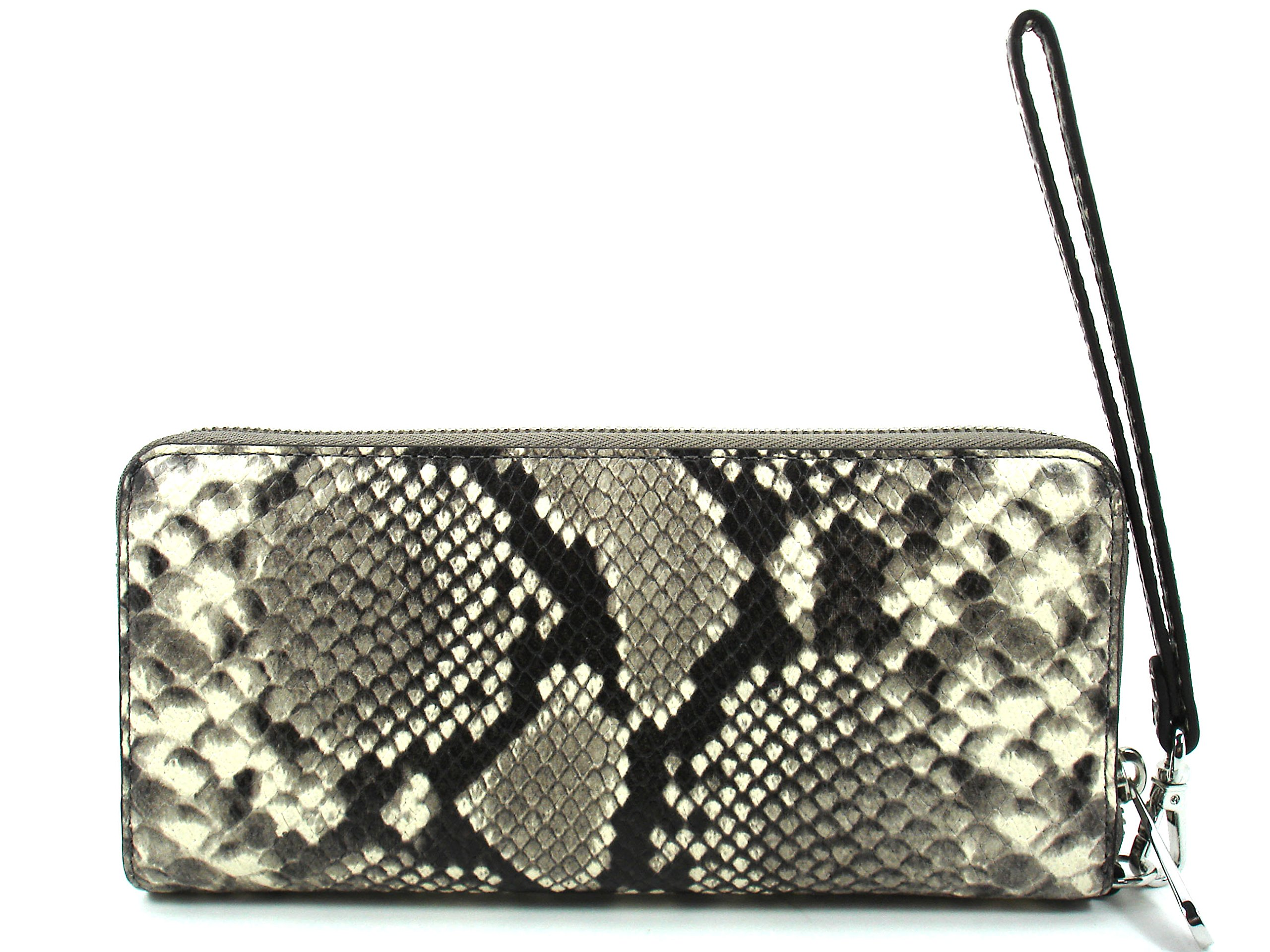 Michael Kors Women's Jet Set Travel Embossed Leather Wristlet - Natural by Michael Kors (Image #2)