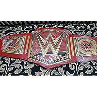 WWE Cinturón de Título de Campeonato de Lucha última intervensión réplica universal Tamaño para adultos