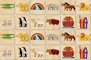 product image for Noah's Ark Memory Tiles - Made in USA