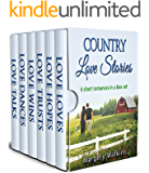 Country Love Stories: Collection of Sweet, Clean Romances