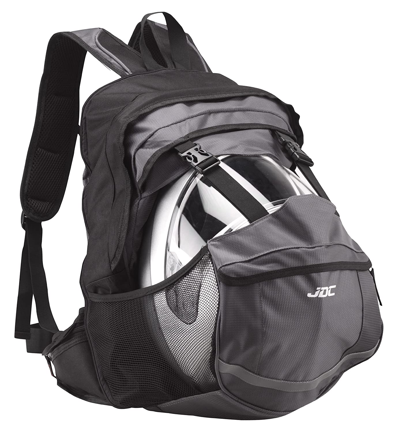 JDC MOTORCYCLE Waterproof RUCKSACK With Helmet Holder/Carrier - 24L expandable to 36L - FRONTIER