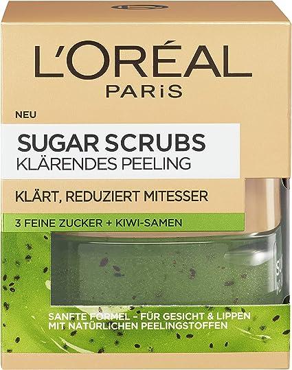 L Oréal Paris Sugar Scrubs Máscara Facial exfoliante klärendes ...