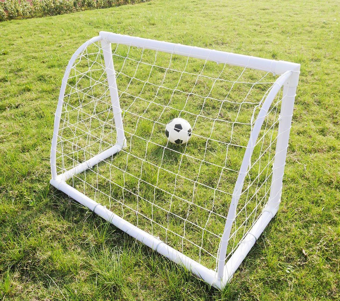 amazon com mini soccer goals 4x3 ft iisport kids soccer goal