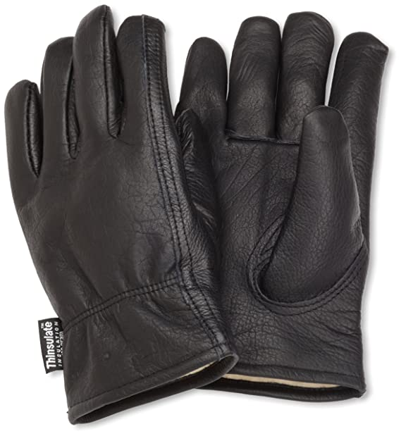 7ef7950f Carhartt Men's Insulated Full-Grain Leather Driver Work Glove