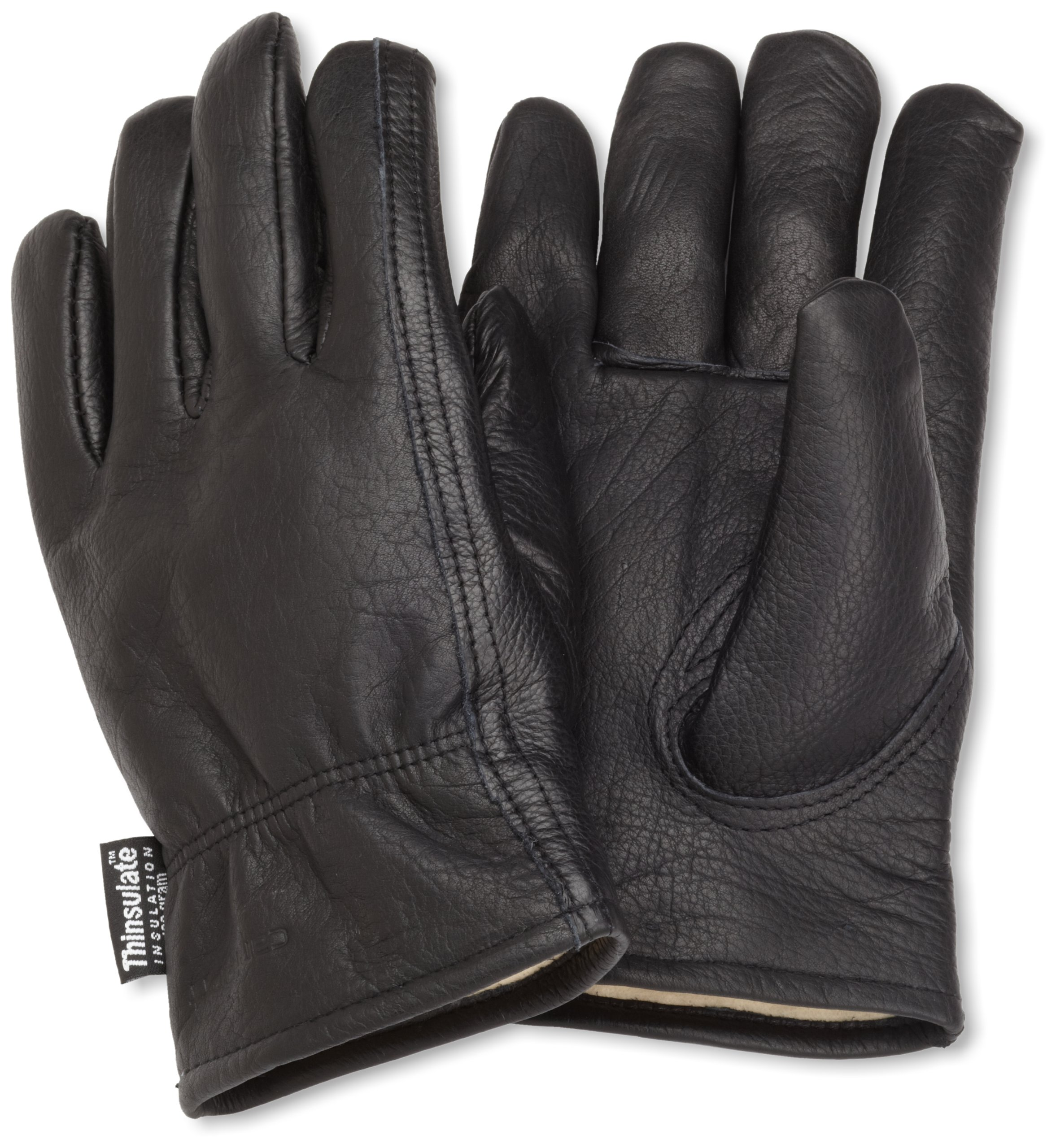 Carhartt Men's Insulated Full Grain Leather Driver Work Glove, Black, X-Large