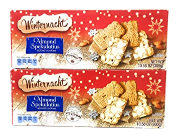 Amazon Com German Almond Spekulatius Spiced Cookies By Winter