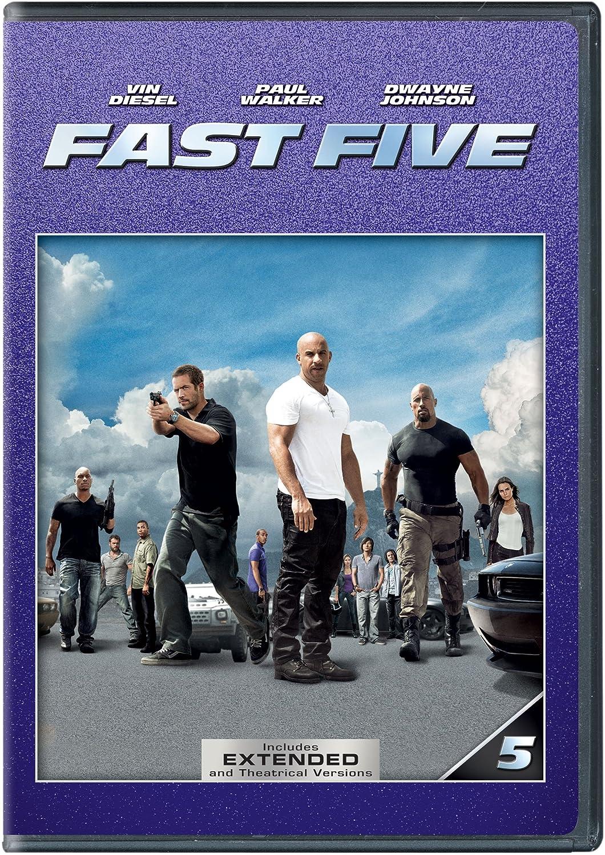 Amazon.com: Fast Five: Dwayne Johnson, Vin Diesel, Justin ...