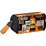 L'Oréal Men Expert能量包, 礼品套装,男士洗漱包, 24小时保湿(50毫升),洁面膏 (150毫升)和劲能沐浴露 (300 ml)